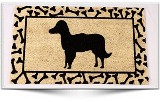 DOG RUBBER BACKED MAT