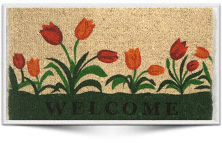 WELCOME TULIP COCO MAT